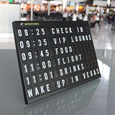 Airport Board f. eigene Texte