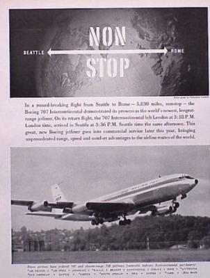 Boeing 707 1959 Size M