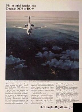 Douglas DC-9 1960 Size M