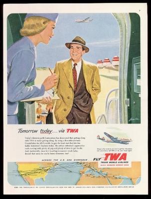 TWA 1952 Passagier