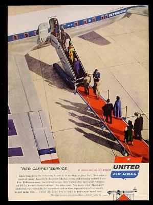 United 1955 Red Carpet