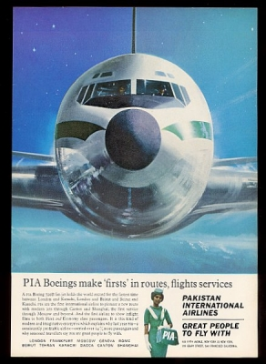Pakistan Int. Airlines 1964