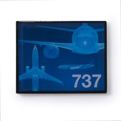Boeing 737 Magnet Frame