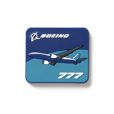 Boeing 777 Magnet 2D