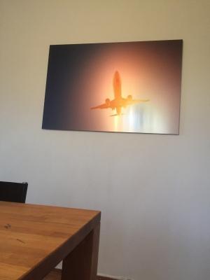 Sunset Jet - Alu-Dibond 120x80