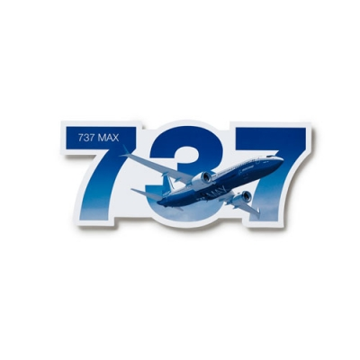 737 Max Sticker XL