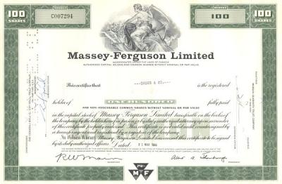 Historische Massey-Ferguson LTD Aktie