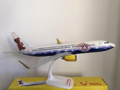 Tuifly Boeing 737-800 Bärenmarke 1:100