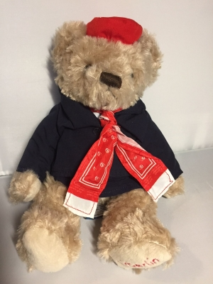 AirBerlin Teddy Stewardess
