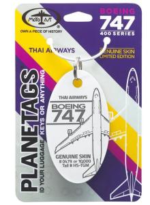 Boeing Thai Airways 747  Tail #HS-TGM