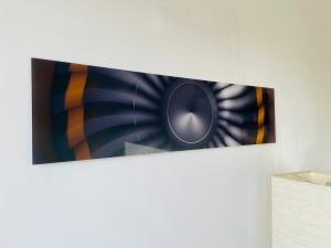 Bild Acrylglas 80x20cm Engine