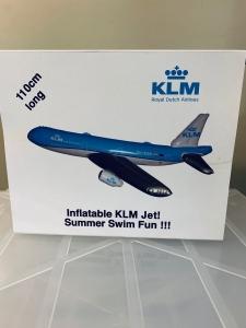 KLM Flugzeug aufblasbar  XXL 110cm