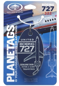 United Boeing 727-222 N7262U