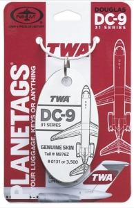 TWA®- DC-9-31 N976Z Vintage White