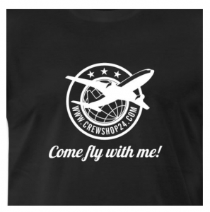 T-Shirt Come Fly with me