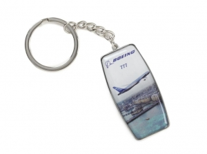 Boeing 777 Endeavors Keychain