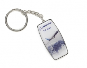 Boeing 737 MAX Endeavors Keychain