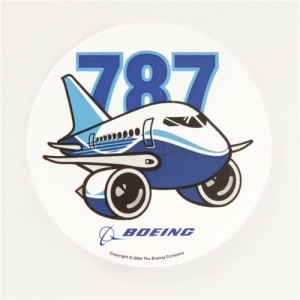 Sticker Boeing 787 Pudgy