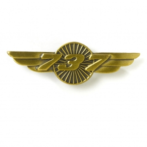 Boeing Logo 737 Pin Wings