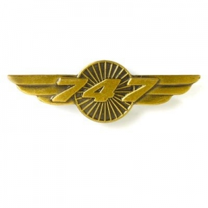 Boeing 747 Pin Wings