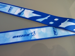 Boeing Lanyard BlueSky