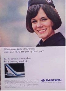 Eastern Airlines 1964 Size M
