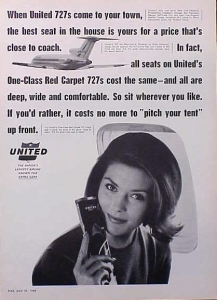United Airlines 1964 Size M