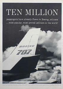 Boeing 707 1960 Size M
