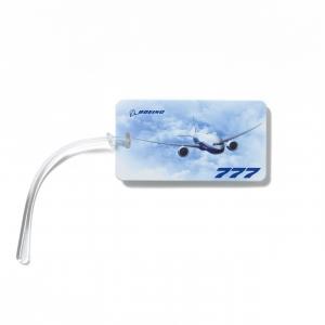 Boeing Luggage Tag BlueSky