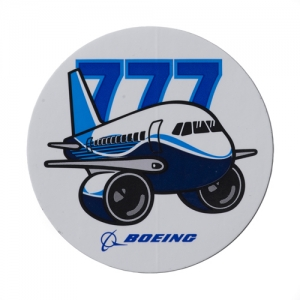 Pudgy 777  Sticker
