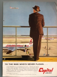 Capital Airlines 1956 Size M