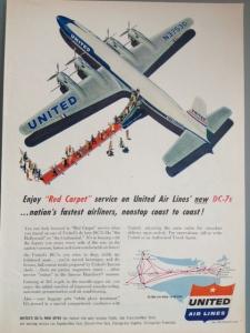 United 1959 Red Carpet Size M