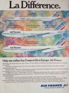 Air France 1988 La Difference 1988 Size M