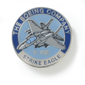 Boeing F15E Eagle Pin