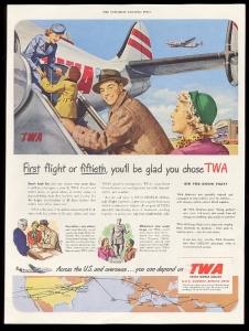 TWA 1950 Propeller L