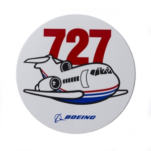 Pudgy 727 Sticker