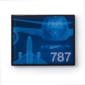 Boeing 787 Magnet  Frame