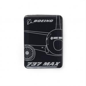 Boeing 737 Magnet 2D