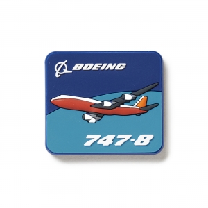 Boeing 747-8 Magnet 2D