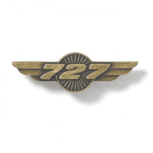 Boeing 727 Wings Pin
