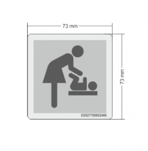 Sticker changing table