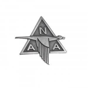 North American Retro Pin
