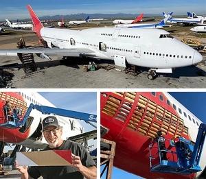 Qantas Boeing 747-400 VH-OJN