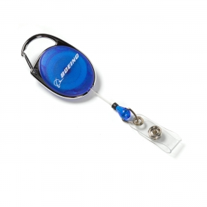 Boeing Badge Holder Blue