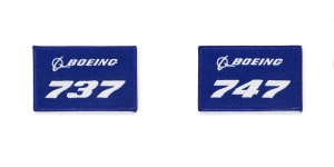 Boeing Patch blue