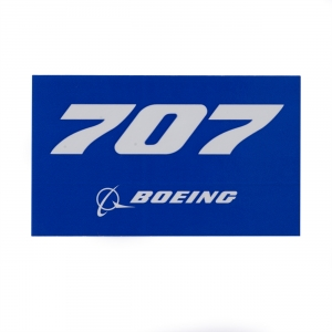 707 Sticker Blue