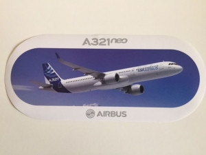 Airbus A321NEO Sticker