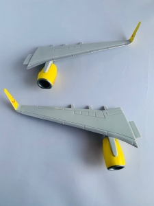 Wings for 1:100 Scale Modell