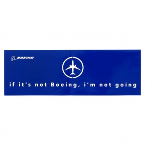 Sticker Boeing not going V2