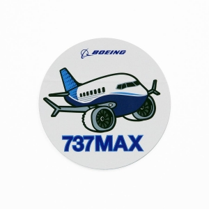 Pudgy 737MAX Sticker